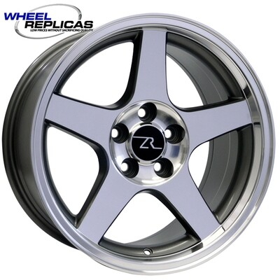17x9 Anthracite w/Mirror Face 03 Dish Style Wheel