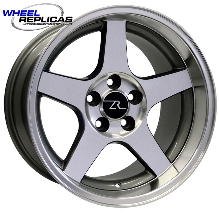 17x10.5 Anthracite w/Mirror Face 03 Dish Style Wheel