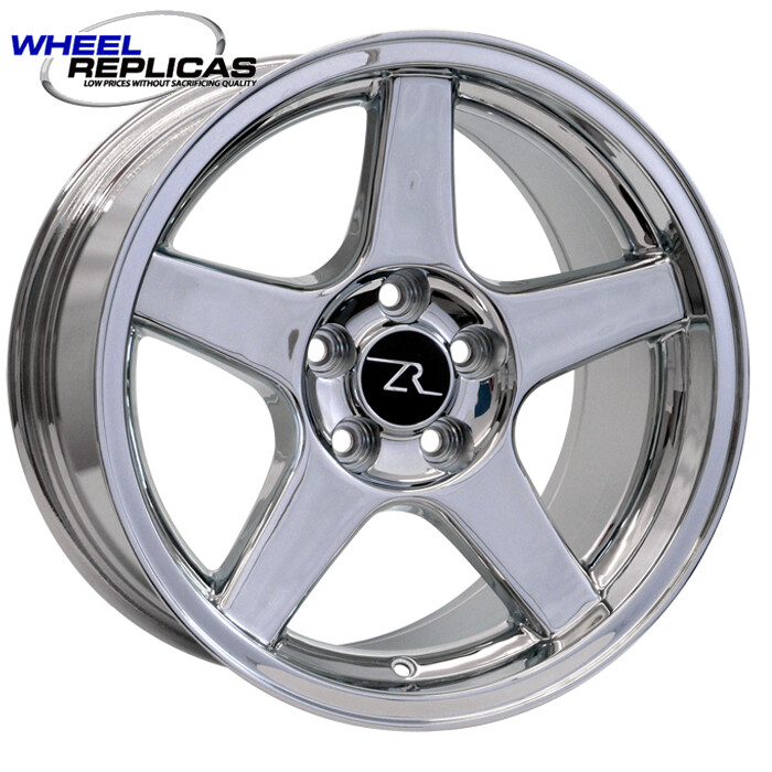 17x9 Chrome 03 Dish Style Wheel