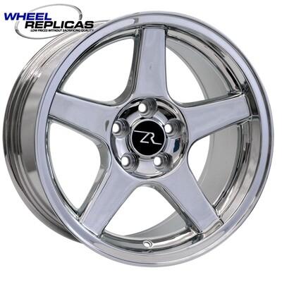 17x9 Chrome 03 Dish Style Wheel