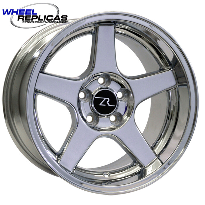 17x10.5 Chrome 03 Dish Style Wheel