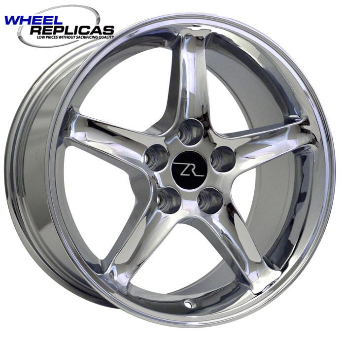 17x9 Chrome Cobra R Style Wheel