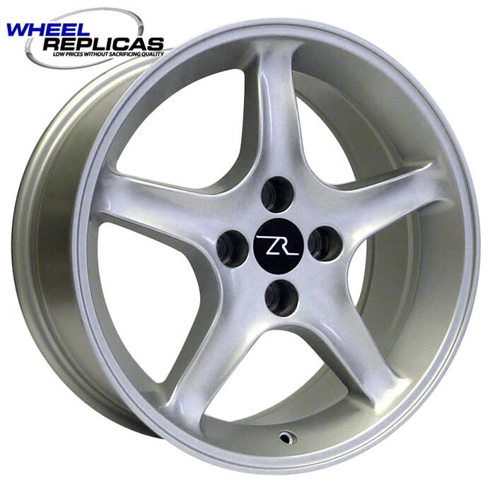 17x8 Silver Cobra R Style Wheel