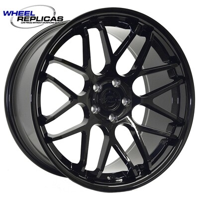 20x10 Gloss Black Downforce DC8 Wheel
