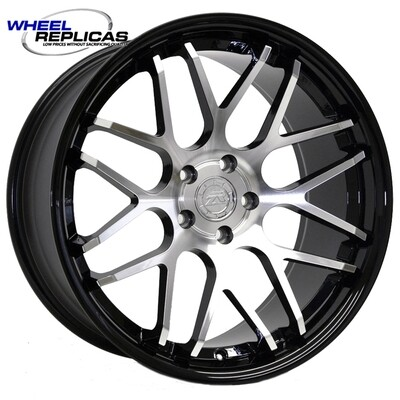 20x10 Gloss Black with Mirror Face Downforce DC8 Wheel