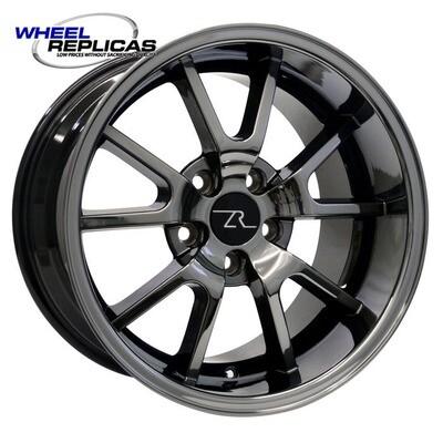 17x10.5 Black Chrome FR500 Style Wheel