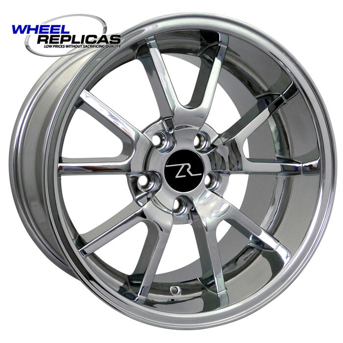 17x10.5 Chrome FR500 Style Wheel