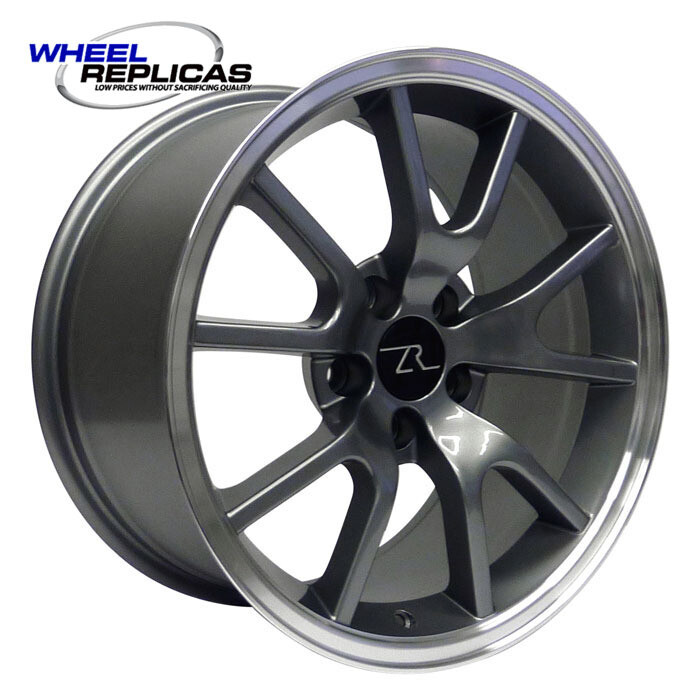 17x9 Anthracite FR500 Style Wheel