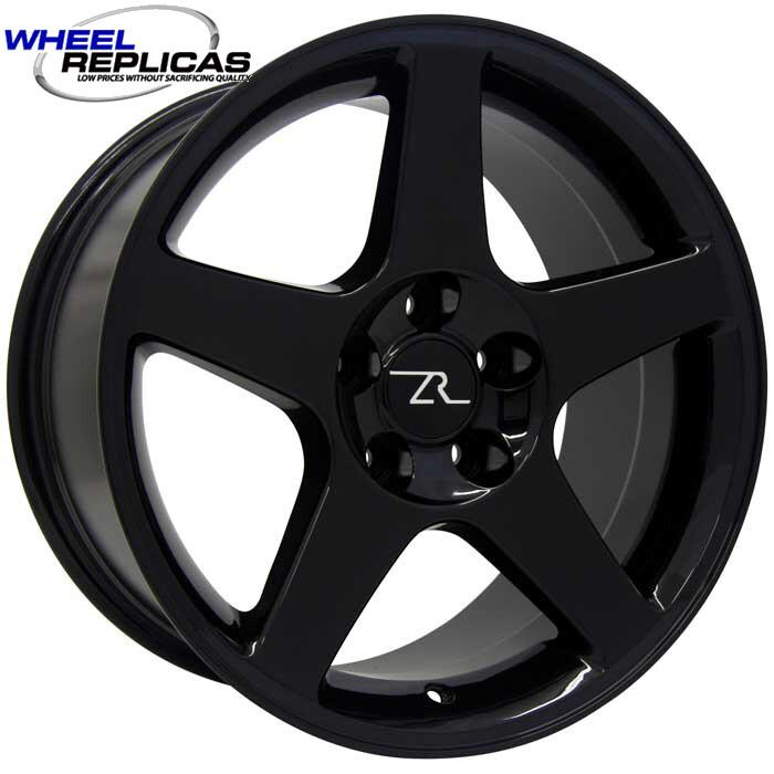 17x10.5 Black 03 Style Wheel