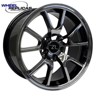 17x9 Black Chrome FR500 Style Wheel