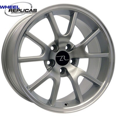17x9 Silver FR500 Style Wheel