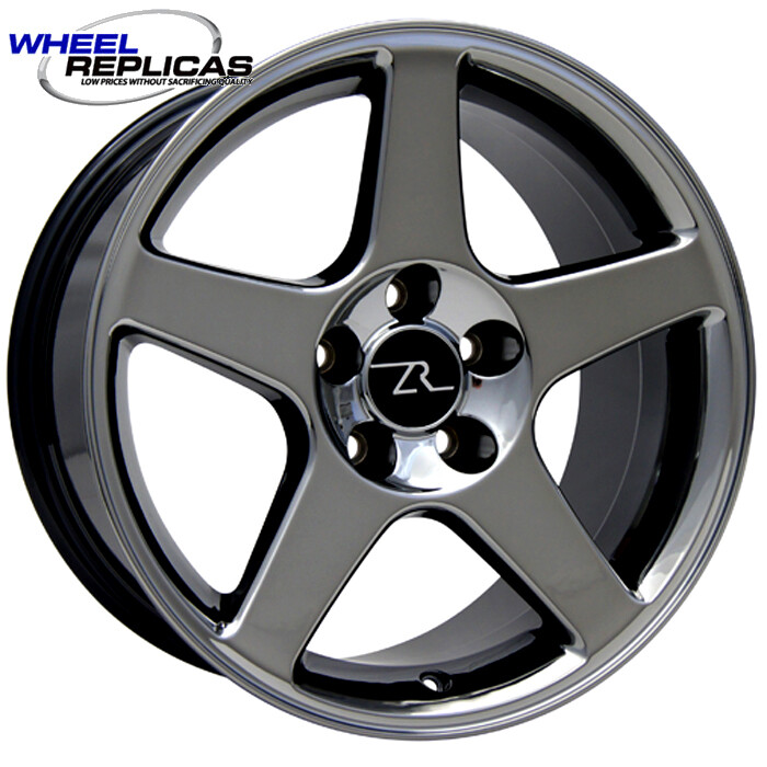 17x9 Black Chrome 03 Style Wheel