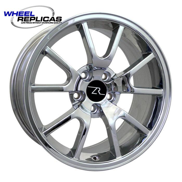 17x9 Chrome FR500 Style Wheel