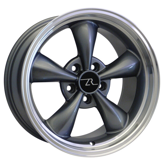 17x9 Anthracite Bullitt Style Wheel