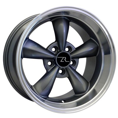 17x10.5 Anthracite Bullitt Style Wheel