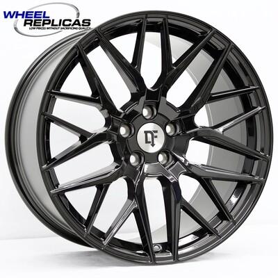 20x9 Gloss Black Downforce DC10 Wheel