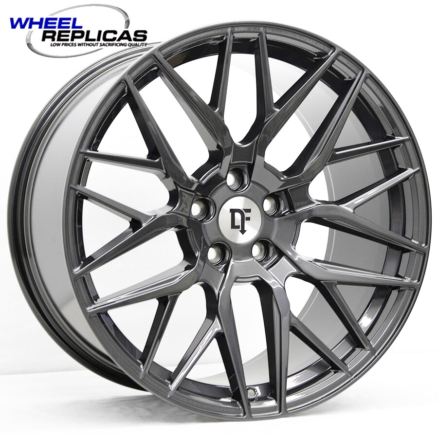 20x9 Metallic Graphite Downforce DC10 Wheel