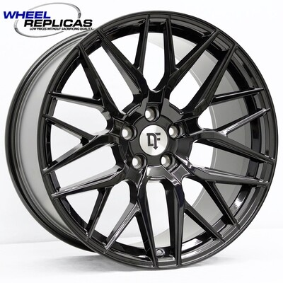 20x10 Gloss Black Downforce DC10 Wheel