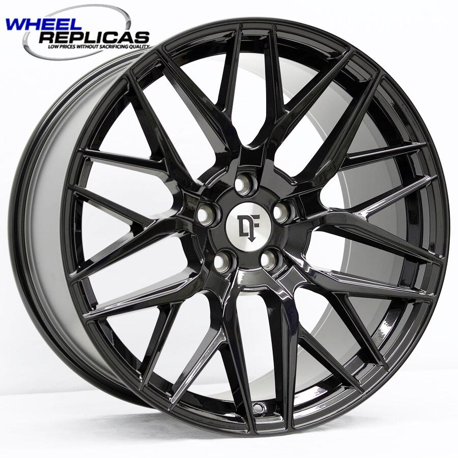 20x11 Gloss Black Downforce DC10 Wheel