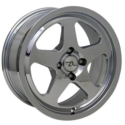 17x8 Chrome SC Style Wheel