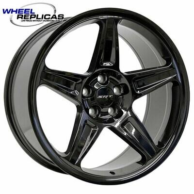 20x9.5 Gloss Black Demon Style Wheels
