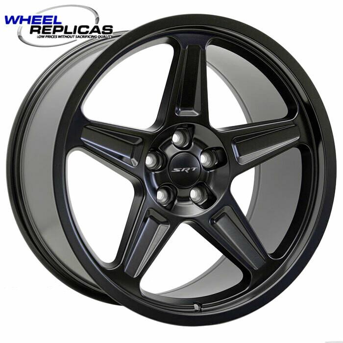 20x10.5 Matte Black Demon Style Wheels