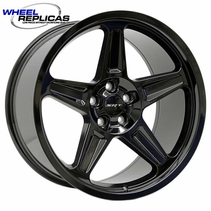 20x10.5 Gloss Black Demon Style Wheels