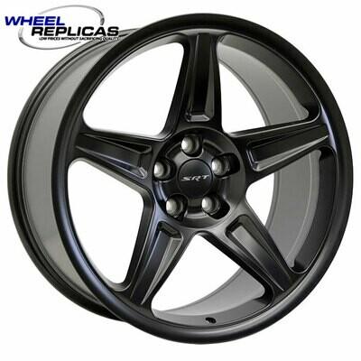 20x9.5 Matte Black Demon Style Wheels