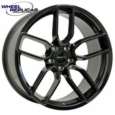20x9.5 Gloss Black Hellcat Style Wheels