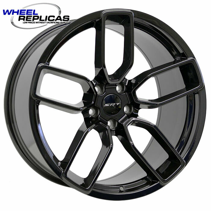 20x10.5 Gloss Black Hellcat Style Wheels
