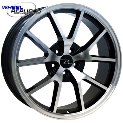 20x8.5 Gloss Black with Mirror Face FR500 Style Wheel