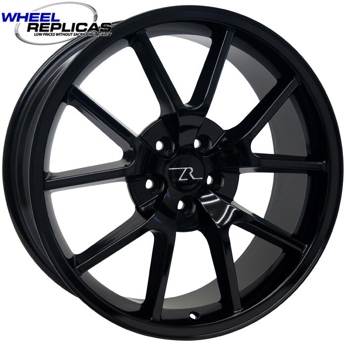20x8.5 Gloss Black FR500 Style Wheel