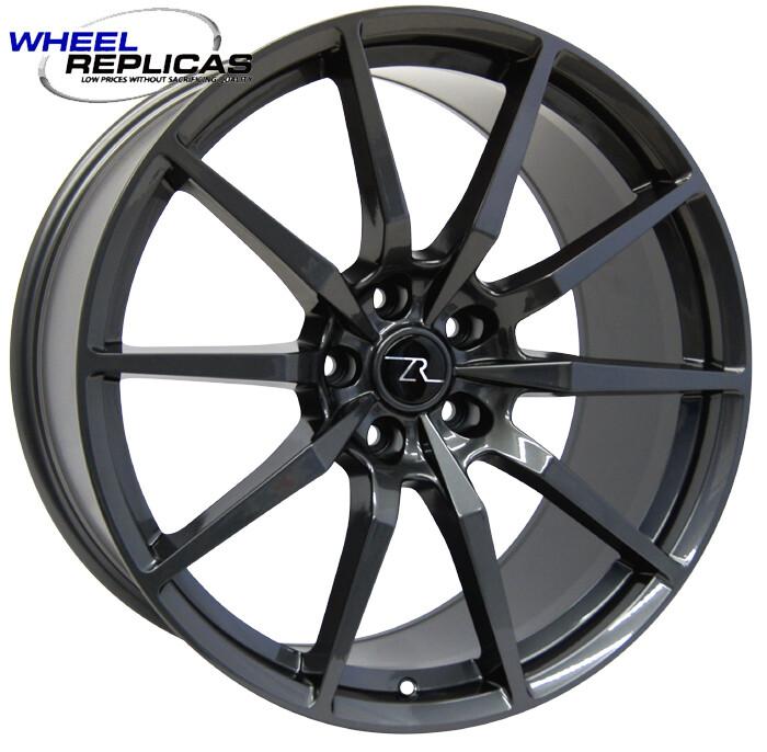 20x10 Gloss Gun Metal  350 Style Wheel