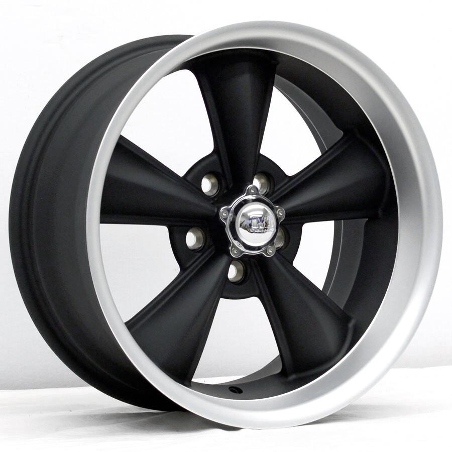 17x8 Matte Black MD Classic Wheel