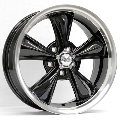 17x7 Gloss Black MD Classic Wheel