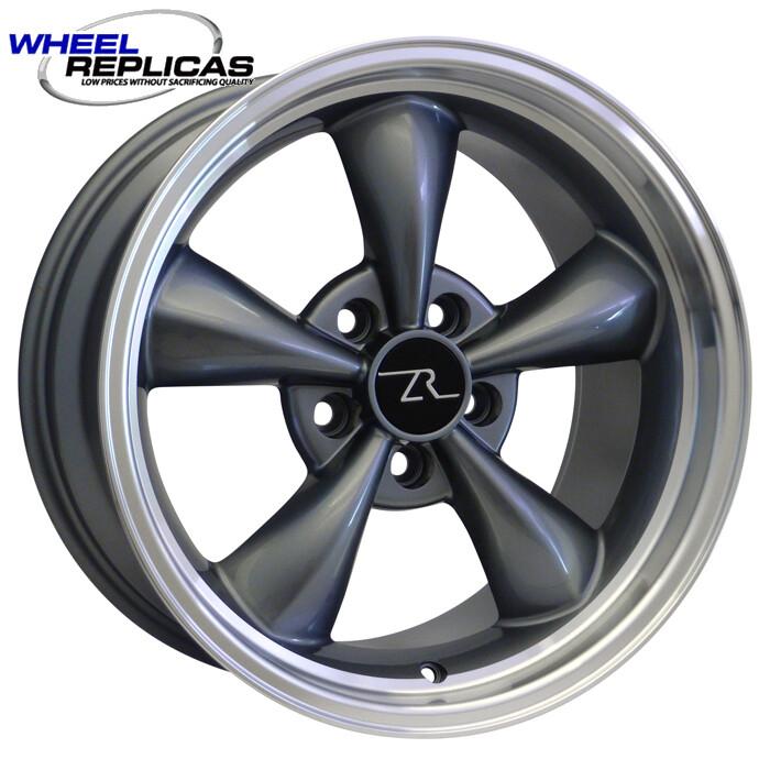 17x9 Anthracite Bullitt Style Wheel