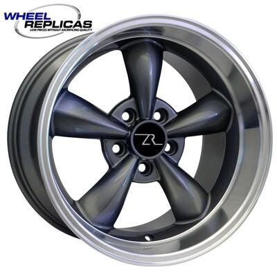 17x10.5 Anthracite Bullitt Style Wheel