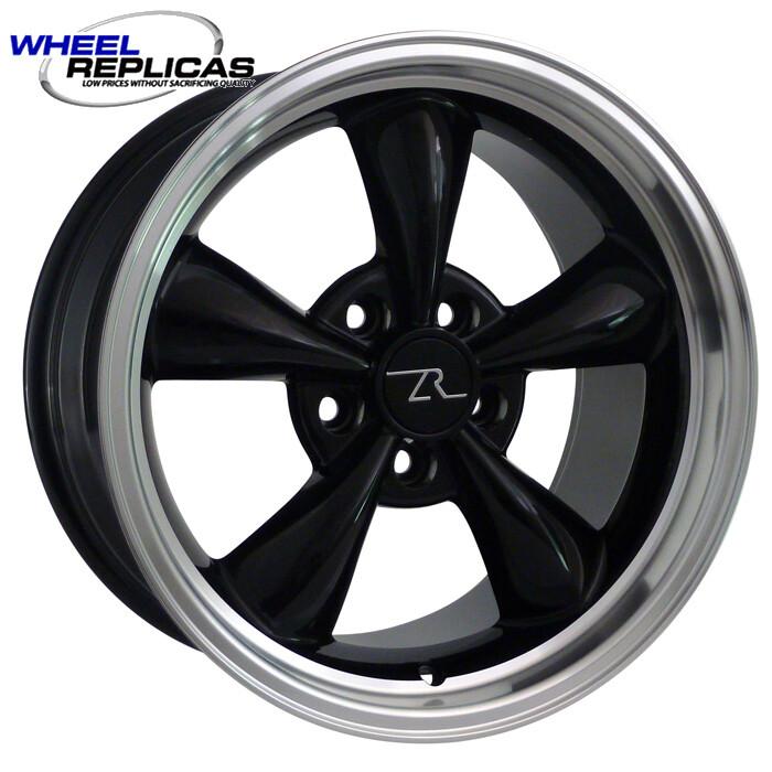 17x9 Black Bullitt Style Wheel