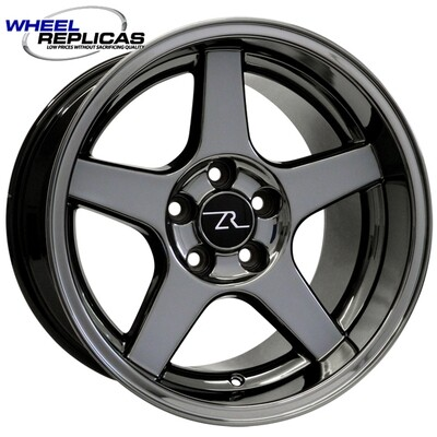 17x10.5 Black Chrome 03 Dish Style Wheel