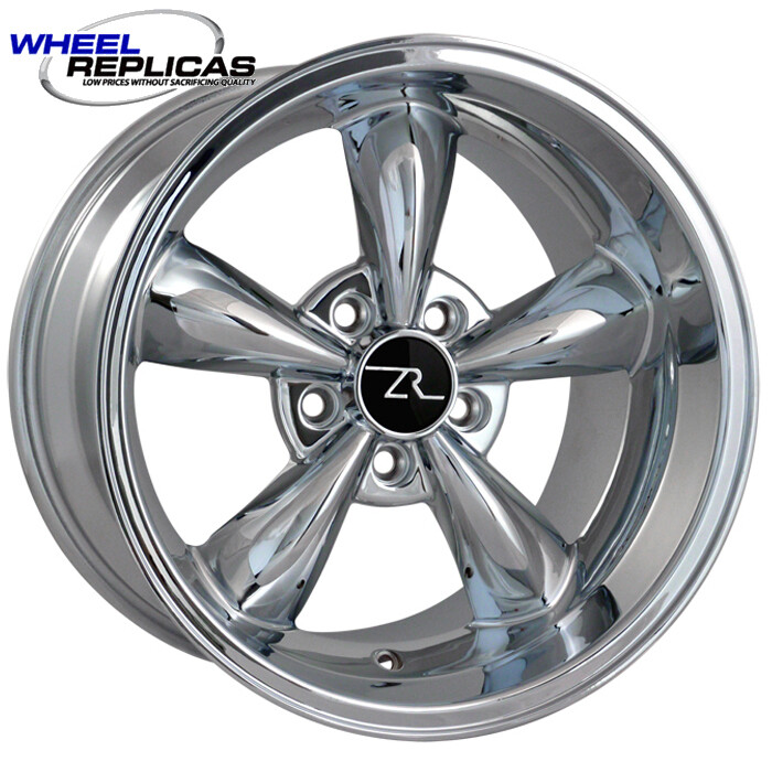17x10.5 Chrome Bullitt Style Wheel