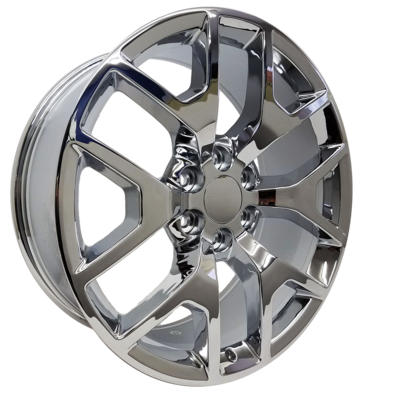 20x9 Honeycomb Style Replica, Chrome Plated