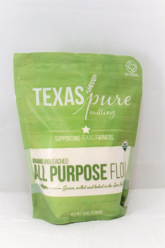 Texas Pure Milling Organic Unbleached All Purpose Flour