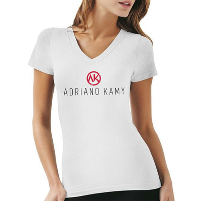 Camiseta Feminina branca - mod. 1