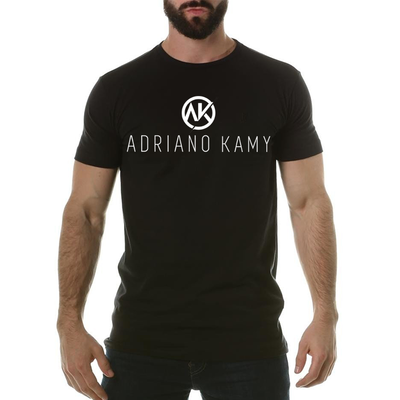 Camiseta Masculina preta - mod. 1