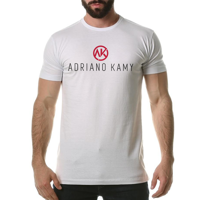 Camiseta Masculina branca - mod. 2