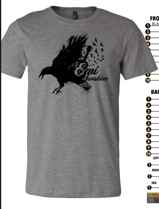 Blackbird Shirt -Small only