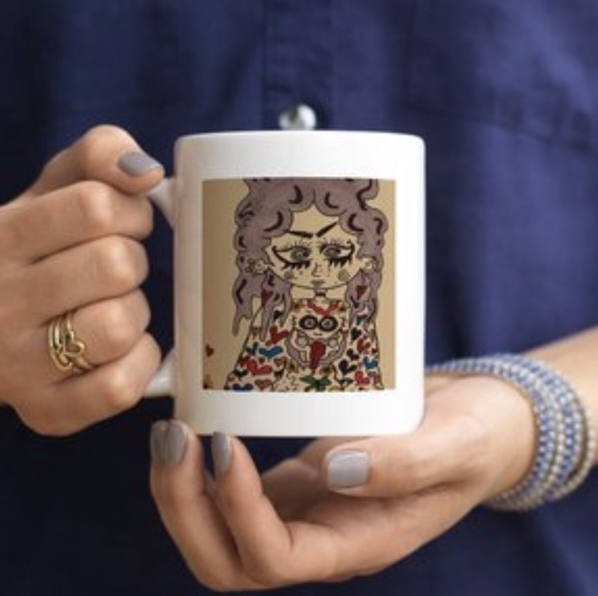 "Original Art ""Be you"" Mug"