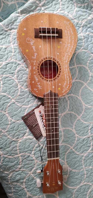 Kala Embellished Uke With Lyric Sheet