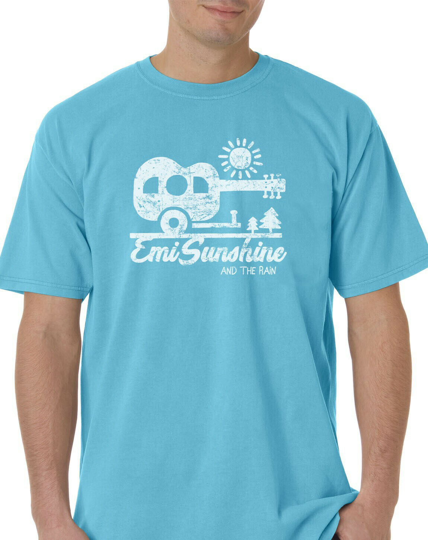 Blue Lagoon Camper Shirt Large