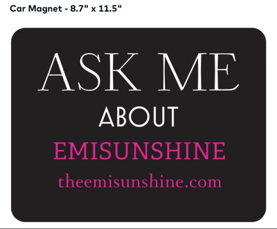 Official EmiSunshine Car magnet